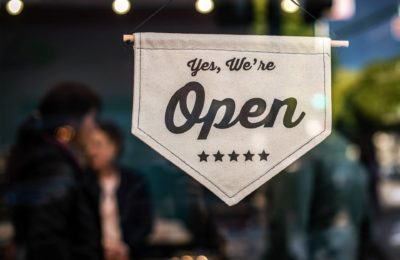 small business, we're open sign, entrepreneurship, equity, wealth gap, COVID-19